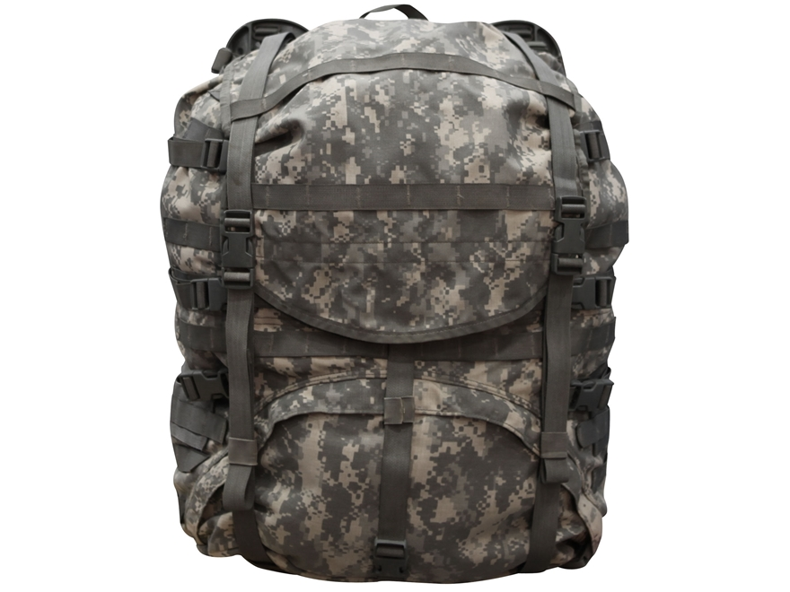 military surplus molle ii large rucksack complete assembly - Military Rucksack With Frame