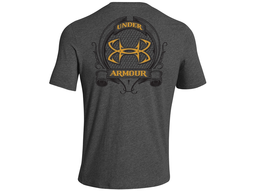 Under armour men 39 s ua fish hook back crest t shirt upc for Under armour fish hook