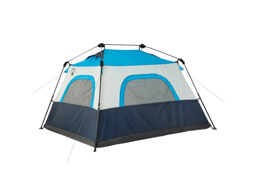Alternate Image 1 · Alternate Image 2  sc 1 st  MidwayUSA & Coleman 4-Person Instant Cabin Tent Polyester Blue - MPN: 2000015681