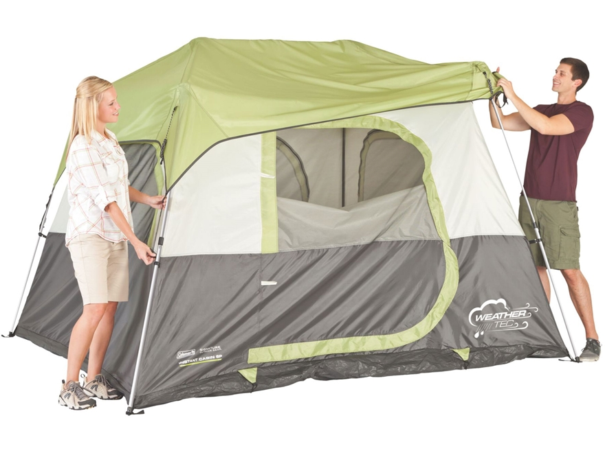 sc 1 st  MidwayUSA & Coleman Instant 8 Person Cabin Tent 168 x 96 x 76 - MPN: 2000016072