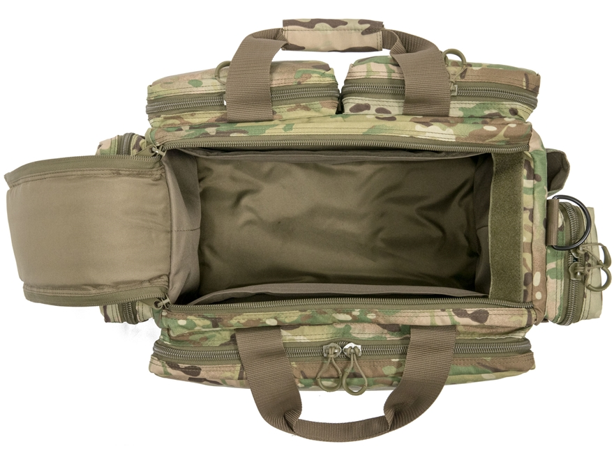 The MidwayUSA Discreet Tactical Rifle Case is the best way to transport your rifle without attracting unwanted attention. The subdued outside features fully wrapped handles and a hook-and-loop grip.