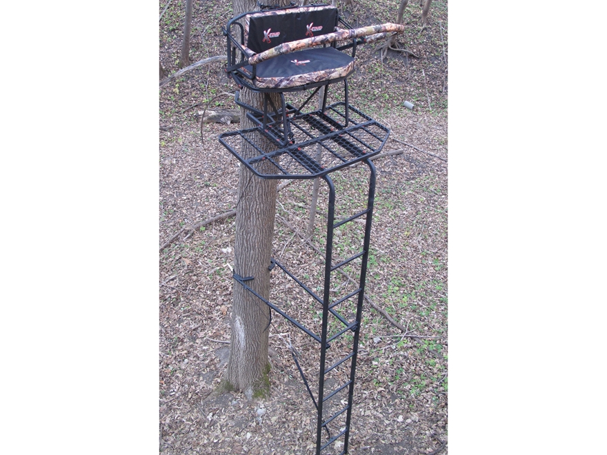 X Stands Big Bubba 16 Double Ladder Treestand Steel Mpn