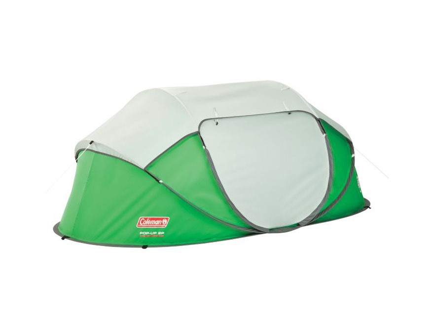Coleman 2-Person Popup Tent Polyester Green and Silver  sc 1 st  MidwayUSA & Coleman 2-Person Popup Tent Polyester Green Silver - MPN: 2000014781