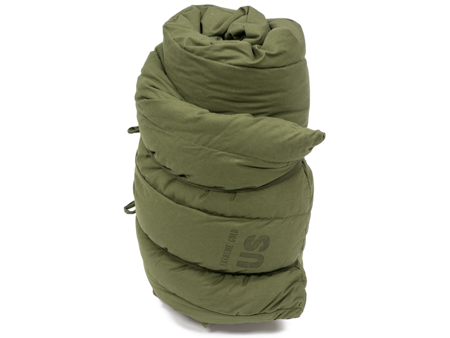 Military Surplus Extreme Cold Weather Sleeping Bag Olive Drab
