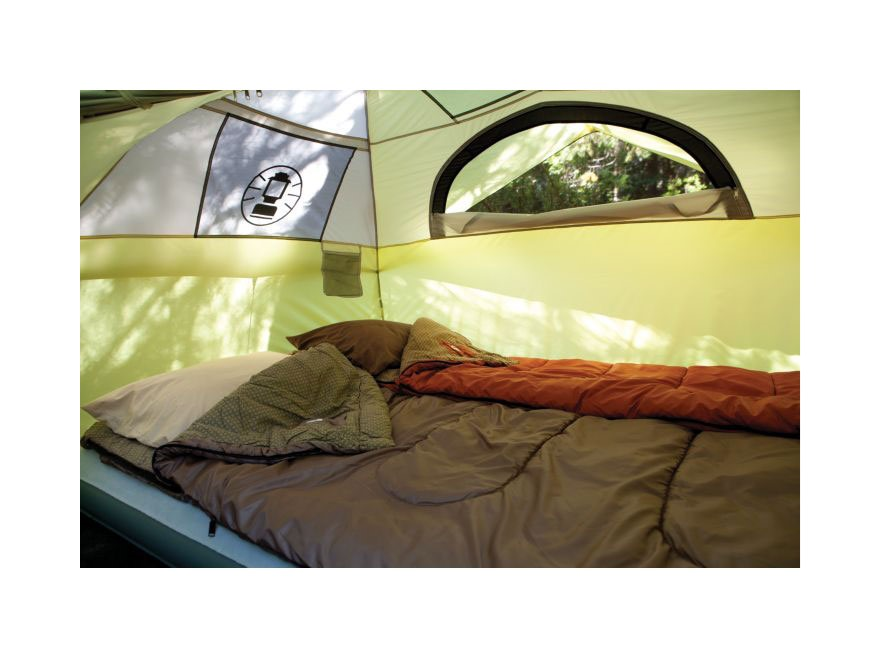 ... Alternate Image 3 ...  sc 1 st  MidwayUSA & Coleman 4-Person Instant Dome Tent Polyester Yellow - MPN: 2000015673