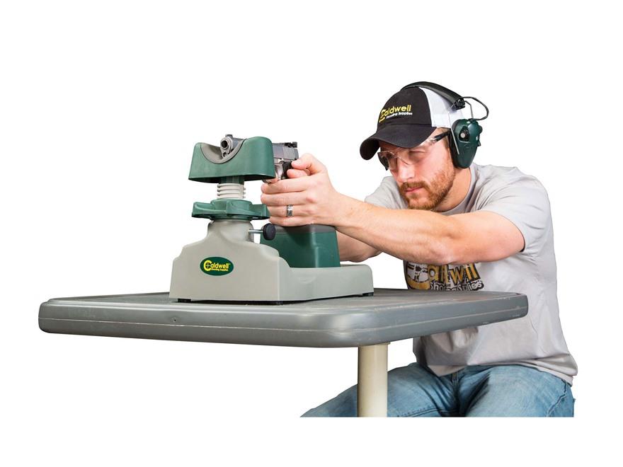 Benchrest Shooting Technique: Caldwell Pistolero Pistol Shooting Rest
