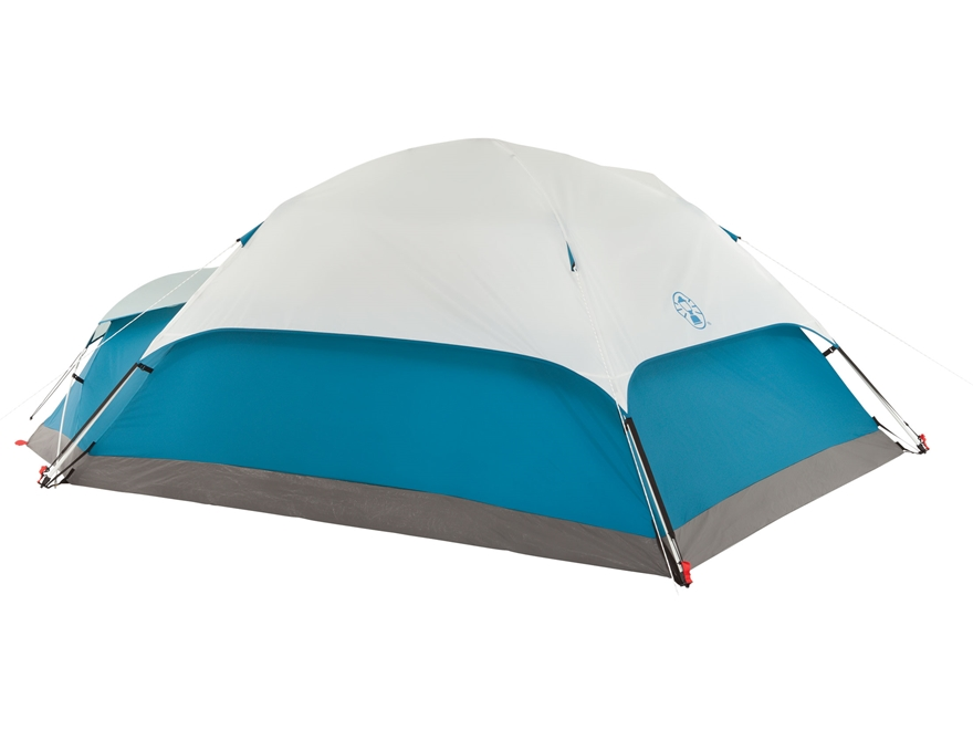 Coleman Juniper Lake 4 Man Instant Dome Tent 78x x 108 x50  with Annex Polyester White and Blue  sc 1 st  MidwayUSA & Coleman Juniper Lake 4 Man Instant Dome Tent 78xx - MPN: 2000018067