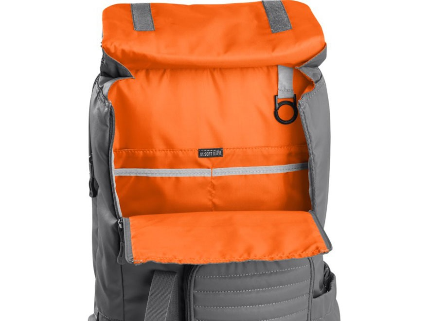 dd947e8cff under armour orange backpack