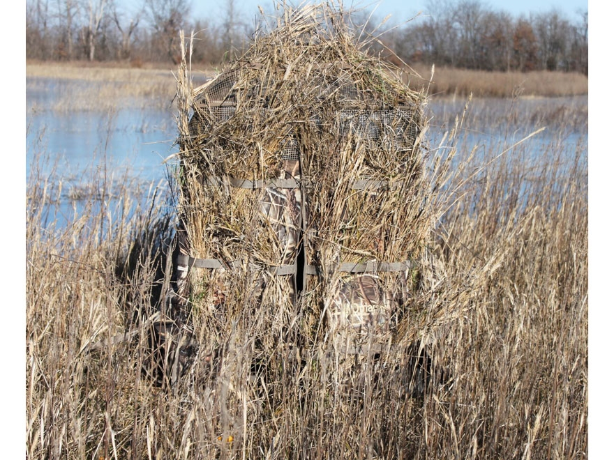 MOMarsh Freedom Hunter Chair Blind Realtree Max 5 Camo