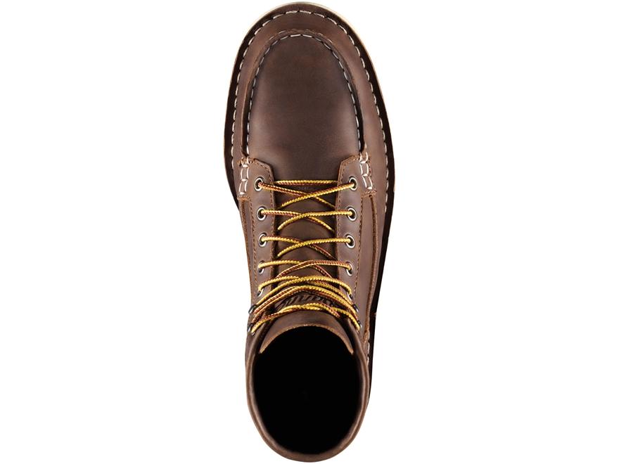 danner bull run moc toe 6 steel toe work boots leather