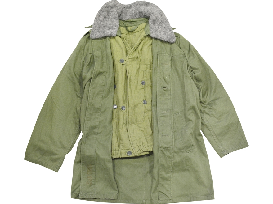 Military Surplus Hungarian Parka Olive Drab