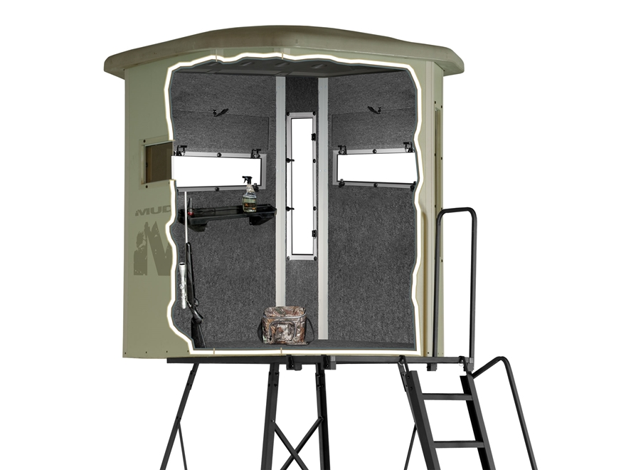 Muddy The Bull 10 Elevated Box Blind Mpn Bbb4000 10c