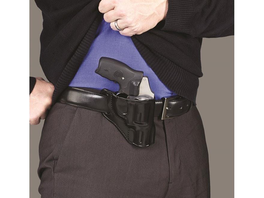 galco hornet belt holster right hand sw j frame 3 barrel leather