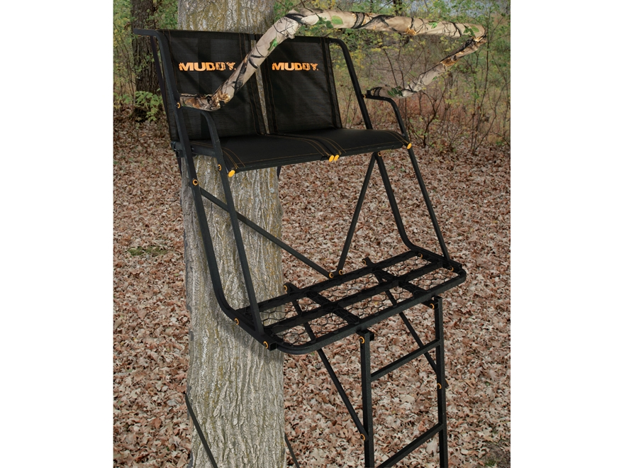 Muddy Outdoors The Side Kick 16 Double Ladder Mpn 1004605