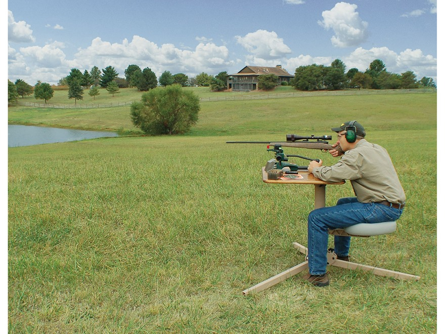 Caldwell Br Pivot Premium Shooting Bench Hardwood Top Mpn 300015
