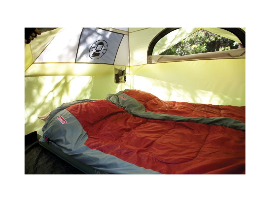 sc 1 st  MidwayUSA & Coleman 4-Person Instant Dome Tent Polyester Yellow - MPN: 2000015673