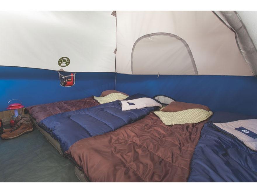 & Coleman Sundome 6 Man Dome Tent 120 x 120 x 72 - MPN: 2000024583