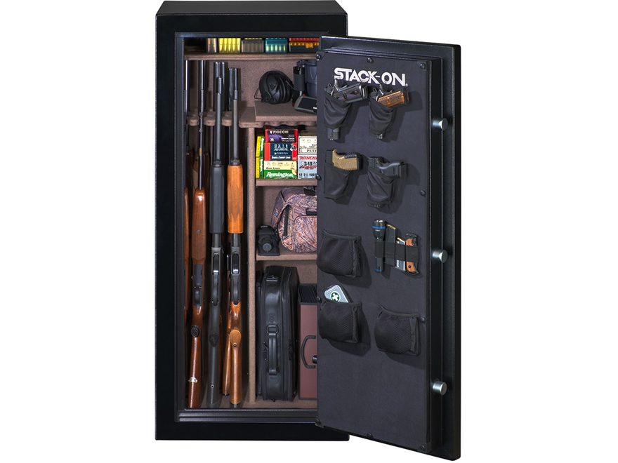 Stack-On Armorgaurd Fire Resistant 18 Gun Safe Electronic Lock Matte