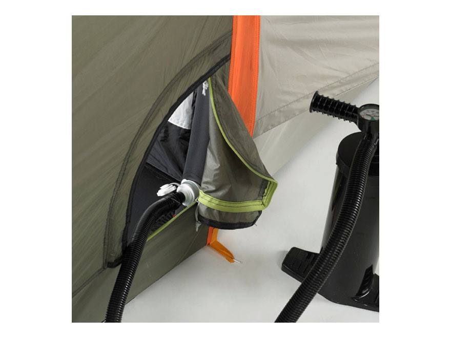 Kelty Mach 6 Man Inflatable Tent 180  x 108  x 76  Polyester White Orange and Green  sc 1 st  MidwayUSA & Kelty Mach 6 Man Inflatable Tent 180 x 108 x 76 - MPN: 40811613