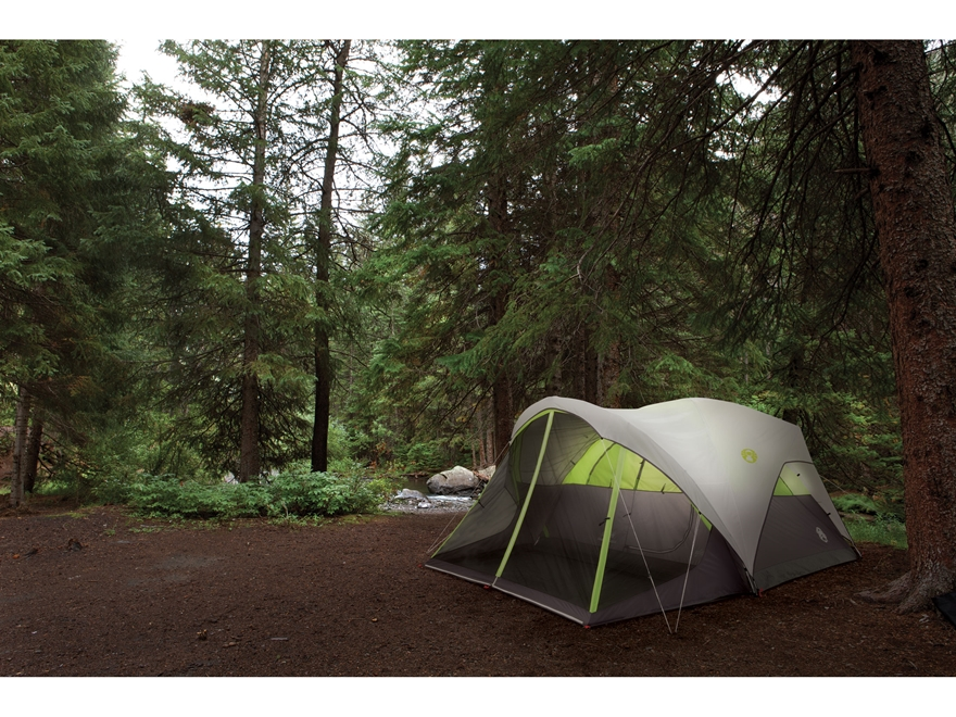 & Coleman Steel Creek Fast Pitch 6 Man Dome Tent - MPN: 2000018059