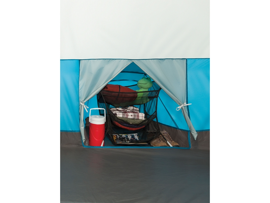 Coleman Echo Lake Fast Pitch 6 Man Cabin Tent 144 x84 x76  Polyester Blue and White  sc 1 st  MidwayUSA & Coleman Echo Lake Fast Pitch 6 Man Cabin Tent - MPN: 2000019415
