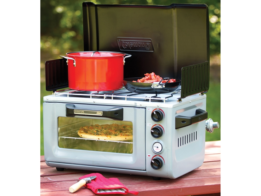 Coleman Camp Oven Combo Propane Stove Oven - MPN: 2000020944