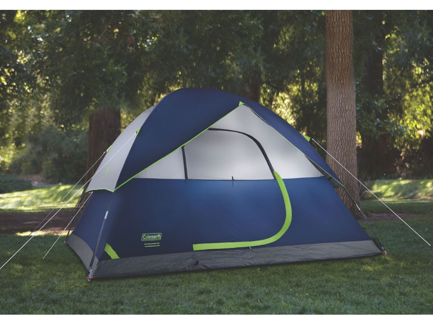 ... Alternate Image 5 & Coleman Sundome 6 Man Dome Tent 120 x 120 x 72 - MPN: 2000024583