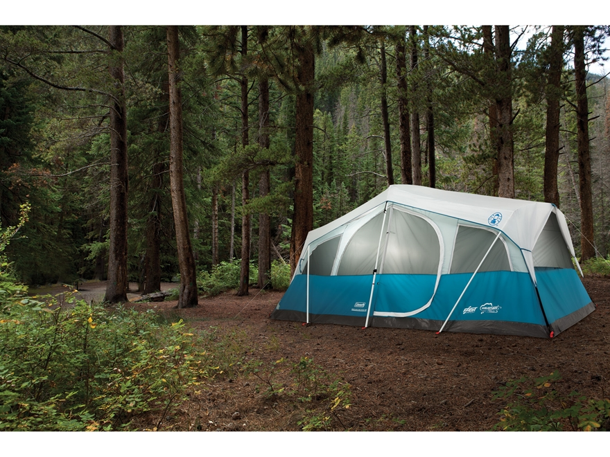 ... Alternate Image 6 & Coleman Echo Lake Fast Pitch 8 Man Cabin Tent - MPN: 2000018060