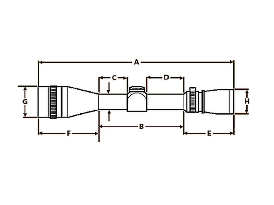 Nikon P 300 Blackout Rifle Scope 2 7x 32mm Bdc Super Sub
