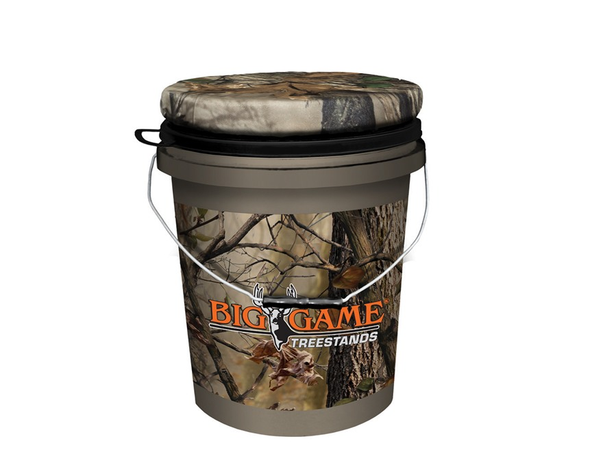Big Game Spin Top Bucket Seat Epic Camo Mpn Gs1204
