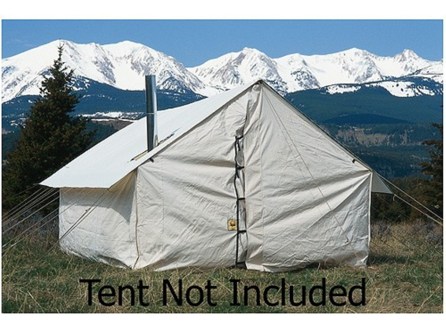 Montana Canvas Tent Floor 8 39 X 10 39 Wall Tent