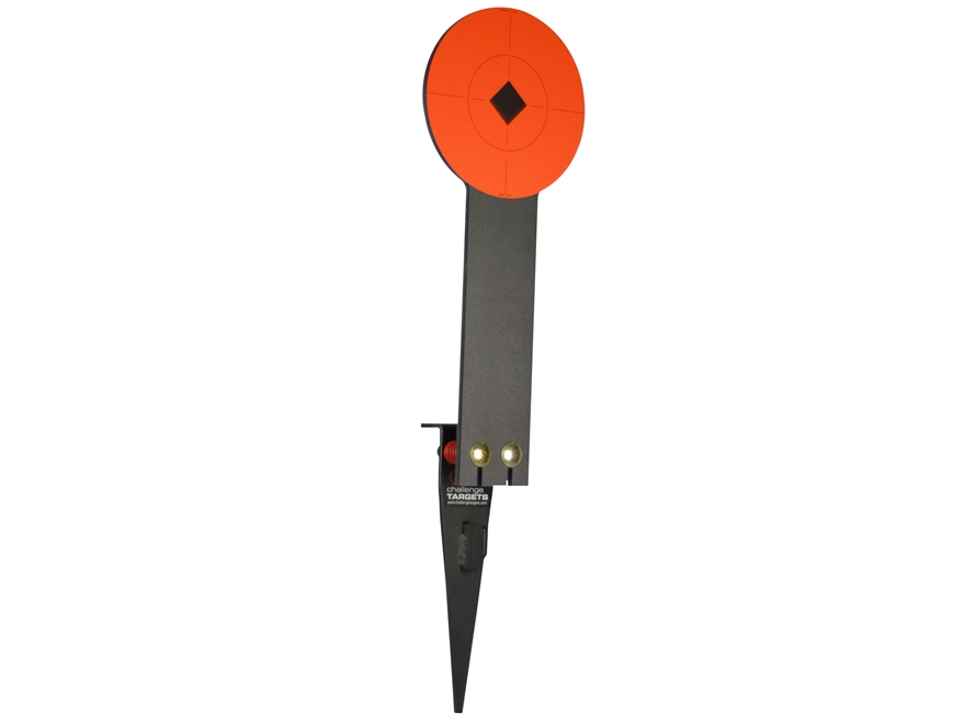 "Challenge Targets Stake-N-Shoot Steel Rifle Target 8"" Rifle Popper ..."