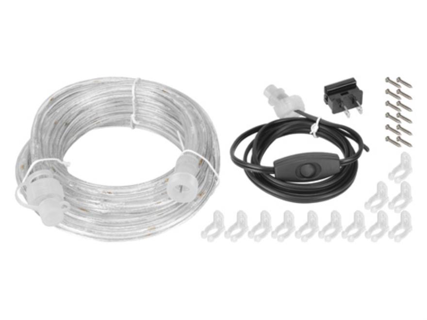 LOCKDOWN Rope LED Light Kit 12 Feet White - MPN: 222020