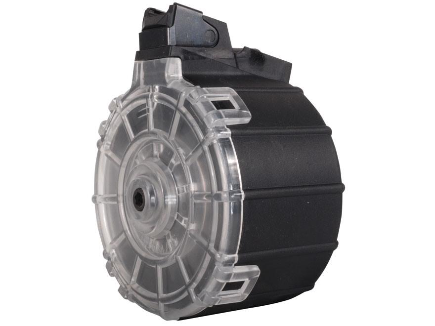 ProMag Mag Saiga 12 Ga Drum Polymer Black