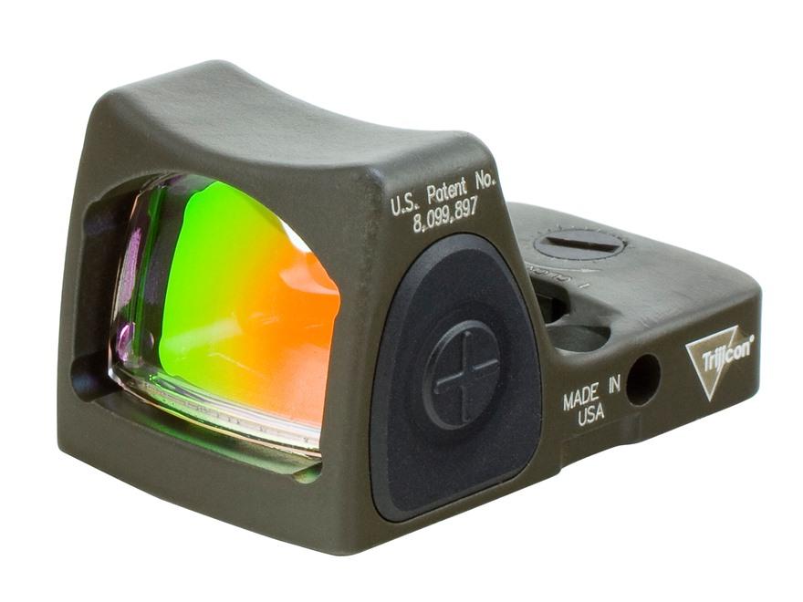 Trijicon Rmr Reflex Red Dot Sight Adjustable Led