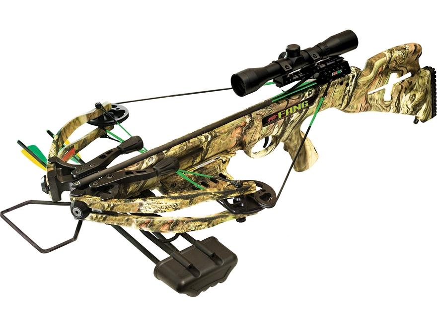 Pse Fang 350 Crossbow Package Scope Mossy Oak Infinity