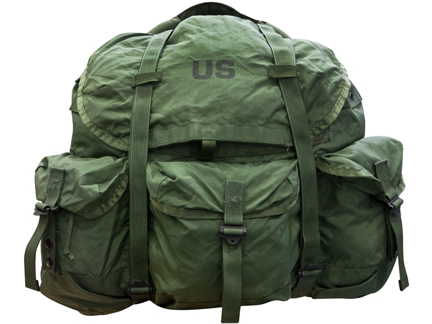 Military Surplus Large Alice Pack Main Pack Only Nylon