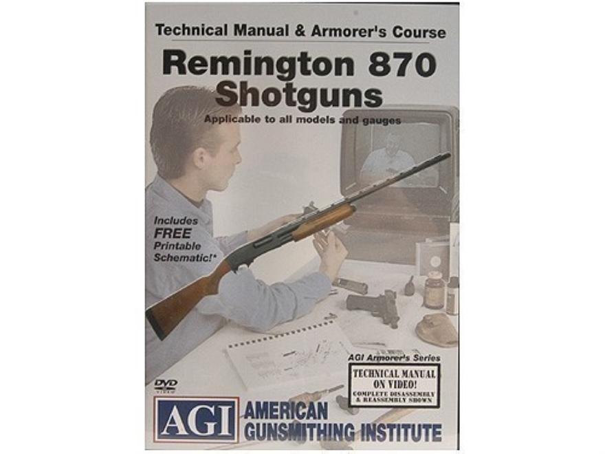 Remington 870 Armorer Manual