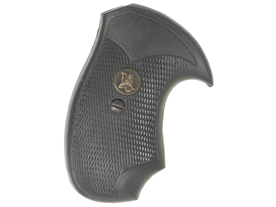 Pachmayr Compac Grips Charter Arms Rubber Black Mpn 02523