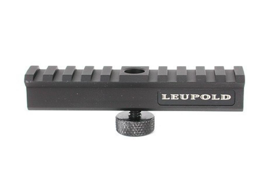 Leupold mark 4 picatinny style scope base ar 15 carry handle matte