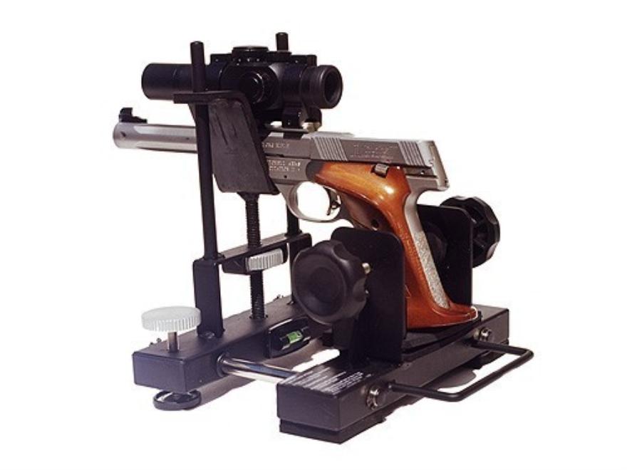 pistol machine rest