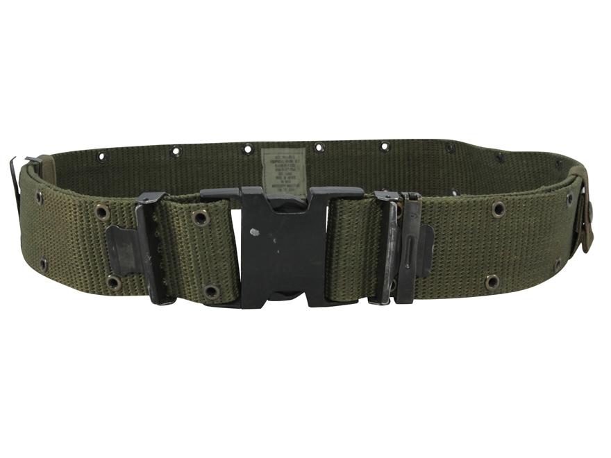 Military Surplus Alice Pistol Belt Nylon Olive Drab