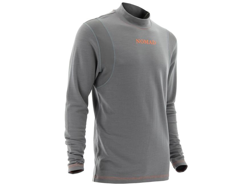 Nomad Men 39 S Sapwood Base Layer Shirt Long Sleeve Merino