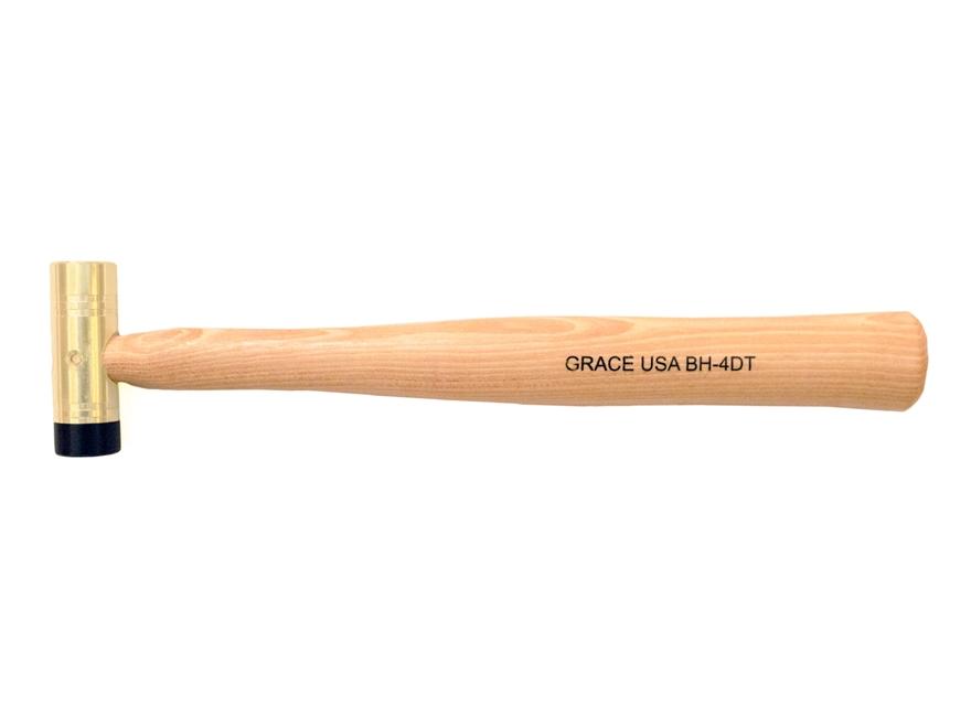 Grace Usa Delrin Tip Brass Hammer 4oz Mpn Bh 4dt