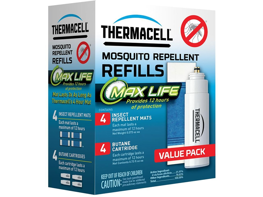 Thermacell Mosquito Repellent Max Life Refill Pack Butane