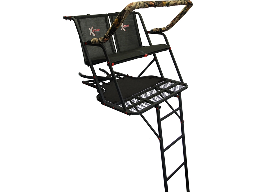 X Stand The Outback 16 Double Ladder Treestand Steel