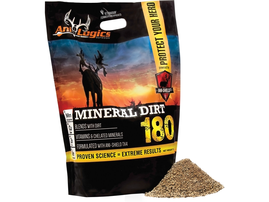 Anilogics mineral dirt 180 deer supplement 10 lb mpn 30700 for What minerals are in dirt