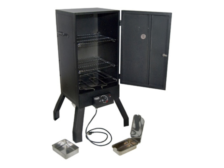 Masterbuilt sportsman elite 2 rack cookmaster electric for Smoked fish in masterbuilt electric smoker
