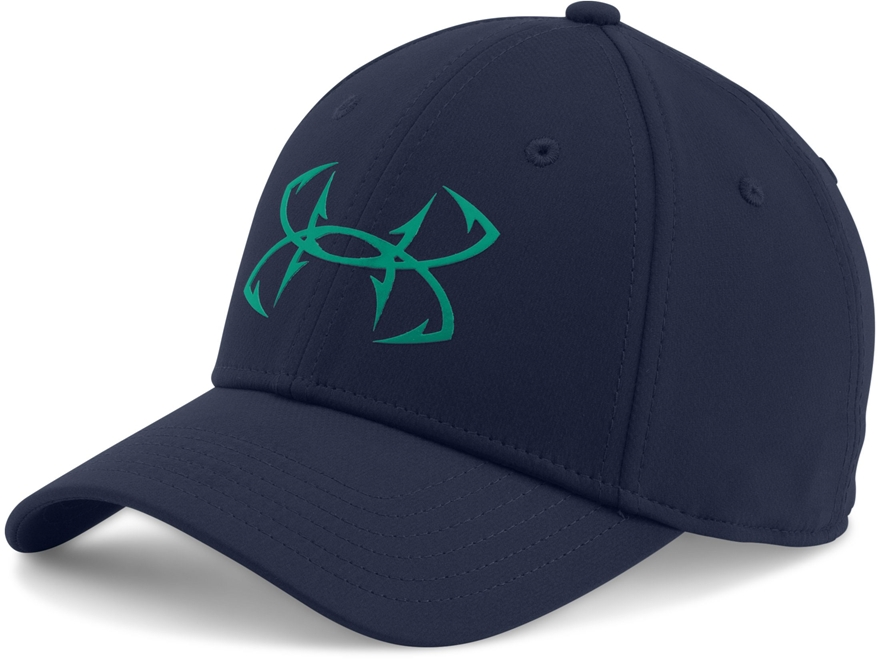 Under armour ua fish hook cap polyester midnight upc for Under armour fish hook hat