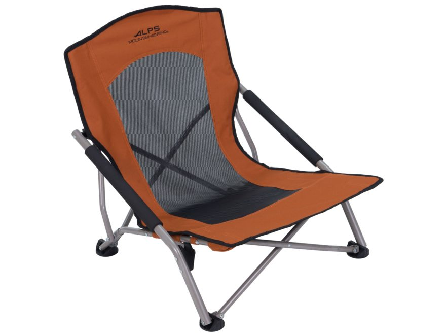 Alps Mountaineering Rendezvous Low Profile Folding Chair Steel